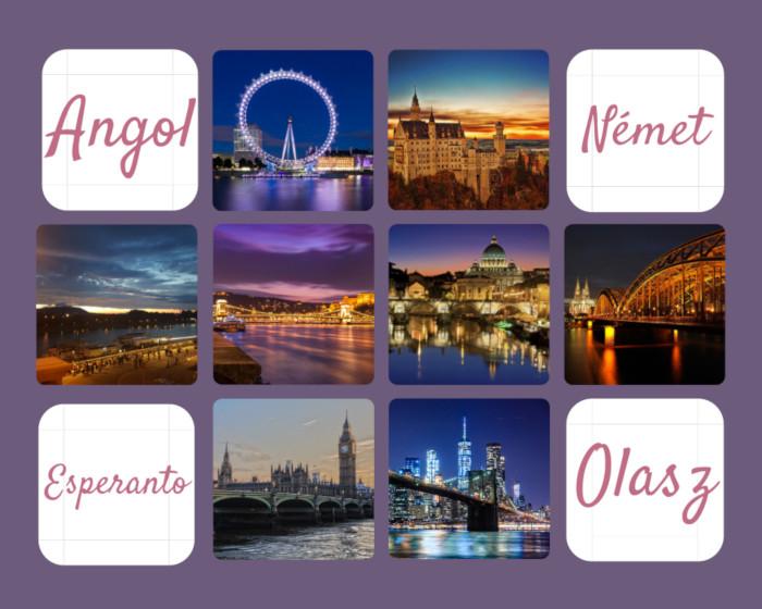 Nagyvárosok képei a nagyvilágból